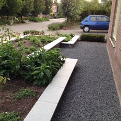 split voor de tuin